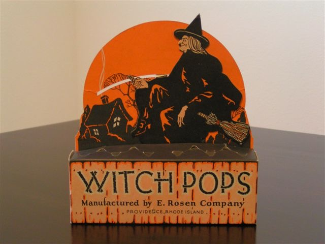 E. Rosen Company Witch Pops Mechanical Countertop Display, 1940s