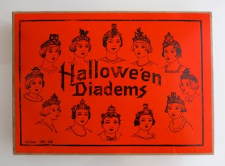 Boxed set of twelve Hallowe'en Diadems, Germany, 1920s