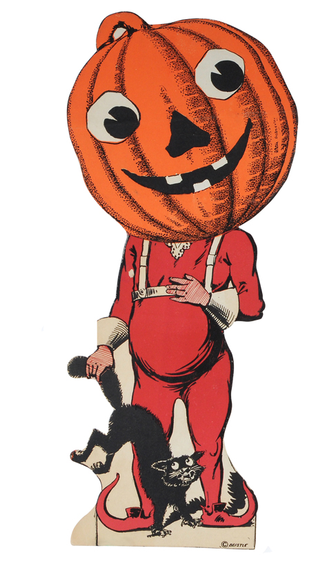Johnny Pumpkin Head