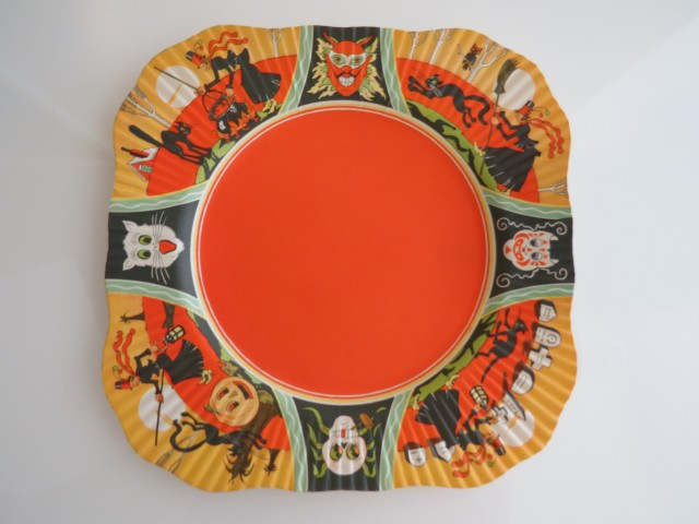 Coved luncheon plate, USA, Beach & Arthur, Inc.,1930s