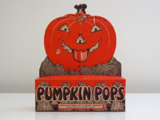 E. Rosen Company Pumpkin Pops Mechanical Countertop Display, mid-1930s