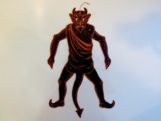 Jointed Devil Die Cut, Beistle, mid-1920s