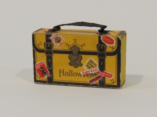 Halloween Suitcase Candy Container, Germany, 1910-1914