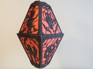 Large Diecut Lantern, Germany, 1920s