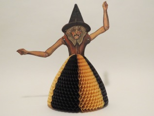 Witch table decoration, USA, Beistle,1930-1931